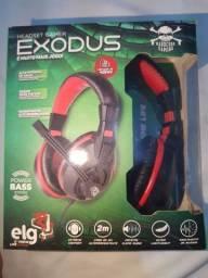 Headset gamer Exodus novo