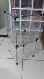 Expositores de vidro