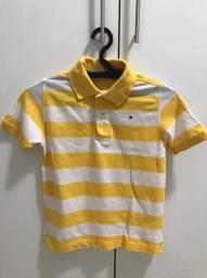 Camisa polo infantil Tommy