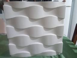 Placas de gesso 3 D decorativas