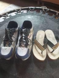 Sapato semir novo sandalia tbm