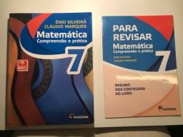 Livro Matemática 7: compreensão e prática em perfeito estado