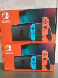 Nintendo switch 32gb novo lacrado