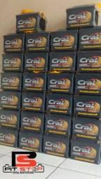 Título do anúncio: Bateria 60AH Cral Blindada 12 meses garantia