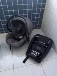Carrinho quinny + bebê conforto + base p/ carro