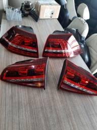 Jogo de lanterna de LED Golf MK7 TSi/GTI Usada original novinha