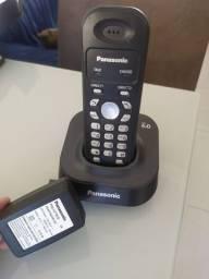 Telefone sem fio Panasonic Usado em perfeito estado