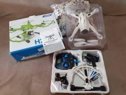 Drone JJRC H26 na cor branca