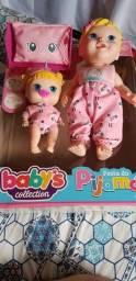 Boneca festa do pijama baby's collection