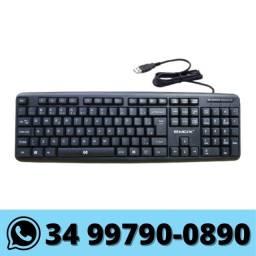 Teclado Pc Notebook USB com Fio