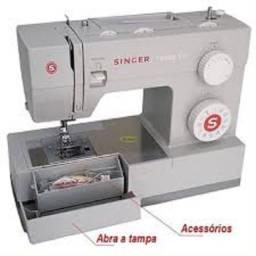 Máquina de costura Singer Facilita Pro 4423 cinza 220V A pronta entrega