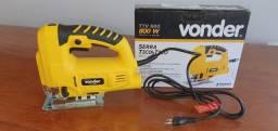 Serra tico tico 800 watts capacidade de corte 80 mm - TTV800 - Vonder