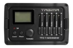 Título do anúncio: Pré-Equalizador Para Violão Tagima TEQ-5 Com Afinador
