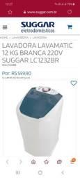 lavadora Suggar  12 k Nova na caixa