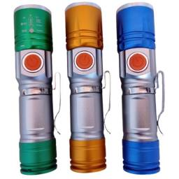 Título do anúncio: Lanterna Forte Longo Alcance 300 Metros Usb