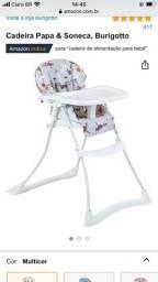 Cadeira alimentação burigutto