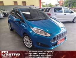 New Fiesta Titanium 1.6 Manual 2014+Raridade +Top de linha
