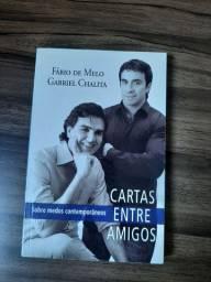 """Livro """"carta entre amigos"""" 25 reais"""