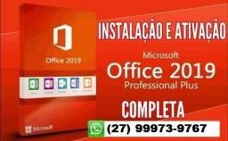 Instalo Agora Online! Office Professional 2019 + Visio e Project - Produto Digital