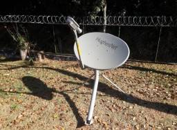 Antena Oval Banda KA+ Modem + LNB Radio BUC