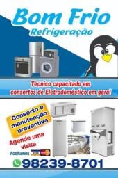 Serviço de refrigeração em domicílio