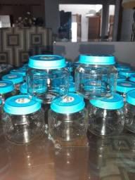 Potes de vidro para lembrancinhas de festa