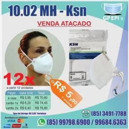 12 un máscaras ksn N95, pff2, reg Anvisa