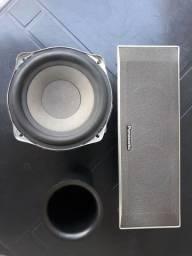 Título do anúncio: Conjunto de alto falantes e subwoofer Panasonic