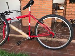 Bicicleta Jump vermelha