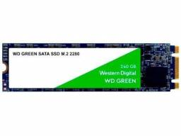 SSD 240GB Western Digital SATA 3.0 M.2 2280 - Leitura 540MB/s e Gravação 465MB/s Green