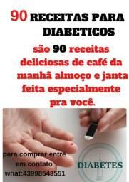 90 receitas para diabeticos