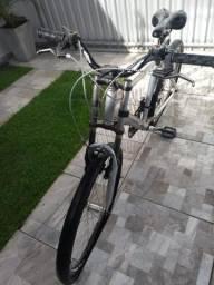 Bicicleta de alumínio(descrição)