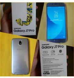 J7 pro 64gb azul (troco em iphone ou em bike aro 29)