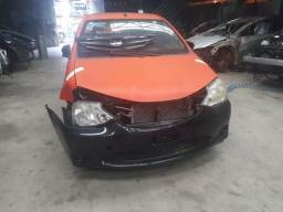 Sucata Toyota Etios 2016/16 1.5 96cv Flex