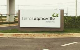 Terreno terras Alphaville com projeto da casa incluso