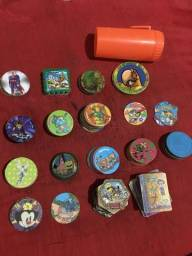 Coleções de Tazos diversos