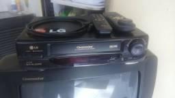 Tv. video cassete. aspirador e estufa