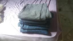 Vendo 5 calças jeans d trabalho n.42