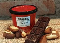 Creme orgânico de castanha do Brasil e castanha de caju, marca nacional certificada
