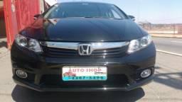 Honda Civic LXL 1.8 Completo Flex 4P Preto - 2013