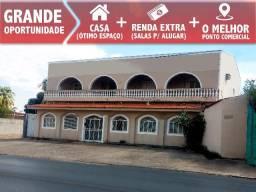 Casa em Cuiabá com Salas para Alugar - Ponto Comercial - Sobrado em Cuiabá