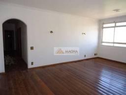 Apartamento com 2 dormitórios para alugar, 121 m² por r$ 1.500/mês - centro - ribeirão pre