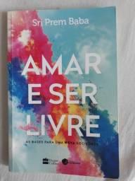 Livro Amar e ser livre.