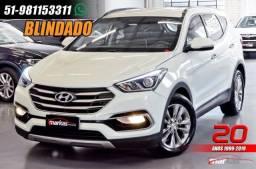 Hyundai Santa Fe 3.3 V6 270HP 4X4 BLINDADO 39 MIL KM 4P