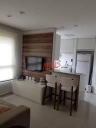 Apartamento para alugar, 50 m² por R$ 2.350,00/mês - Boqueirão - Santos/SP