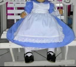 Vestido Alice pais das maravilhas