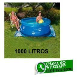 Piscina Redonda 1000 Litros - Fazemos Entregas
