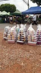 Kit de vasilhas plásticas