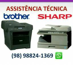 Brother e Sharp