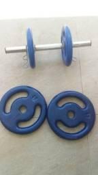 Kit Pesos de musculação